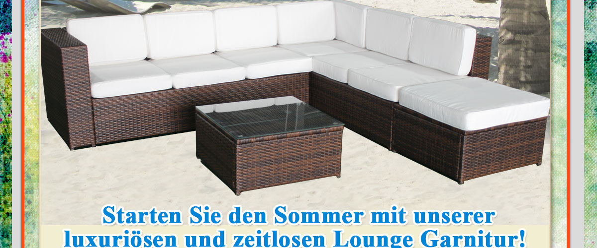 xxxl loungeset loungem bel set gartenm bel polyrattan. Black Bedroom Furniture Sets. Home Design Ideas