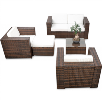 Lounge sessel rattan  XXL Gartenmöbel Polyrattan Lounge Sessel Lounge Stuhl Garten Sofa ...