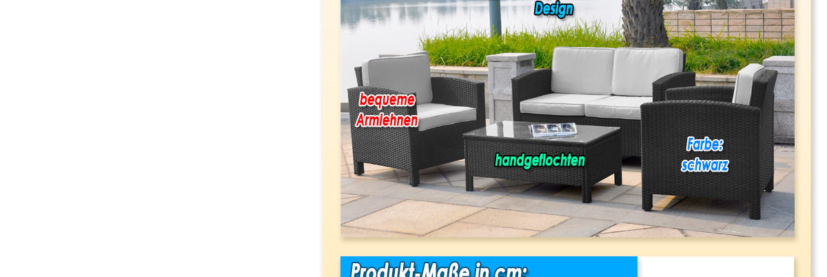 geflochtenes 13 tlg polyrattan gartenm bel lounge m bel. Black Bedroom Furniture Sets. Home Design Ideas
